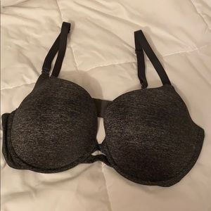 Victoria's Secret Perfect Shape Bra Charcoal Gray